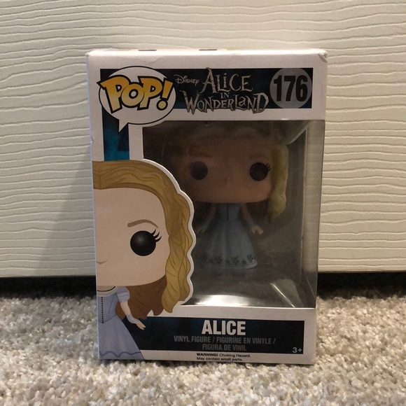 Funko Other - Tim Burton's Alice in Wonderland Alice Funko POP